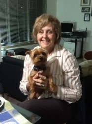 Yorkie and owners photos