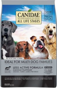 CANIDAE All Life Stages Platinum Less Active Formula Dry Dog Food