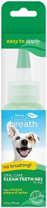 TropiClean Fresh Breath No Brushing Oral Care Gel for Pets