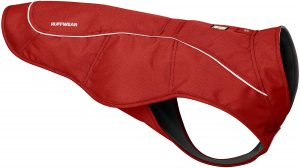 RUFFWEAR, Overcoat Fleece Lined Water Resistant Cold Weather Jacket for Dogs