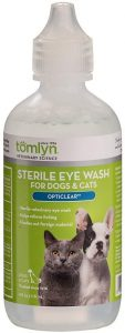 Tomlyn Opticlear Sterile Eye Wash for Dogs and Cats